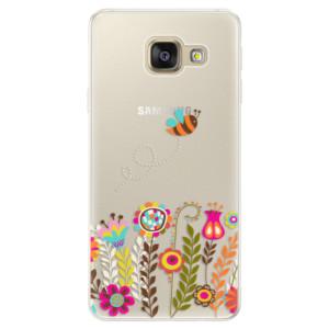 Silikonové pouzdro iSaprio (mléčně zakalené) Včelka Pája 01 na mobil Samsung Galaxy A5 2016