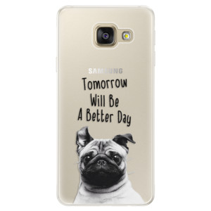 Silikonové pouzdro iSaprio (mléčně zakalené) Better Day 01 na mobil Samsung Galaxy A5 2016