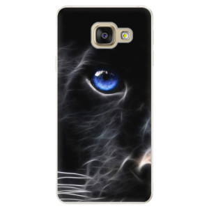 Silikonové pouzdro iSaprio (mléčně zakalené) Black Puma na mobil Samsung Galaxy A5 2016