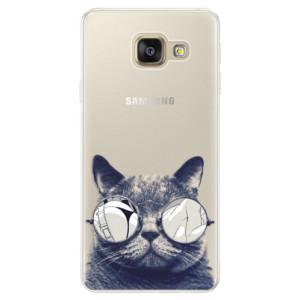 Silikonové pouzdro iSaprio (mléčně zakalené) Šílená Číča 01 na mobil Samsung Galaxy A5 2016