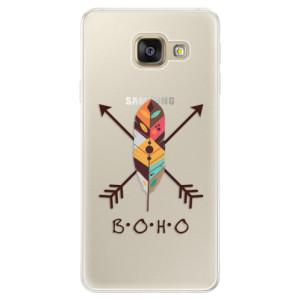 Silikonové pouzdro iSaprio (mléčně zakalené) BOHO na mobil Samsung Galaxy A5 2016