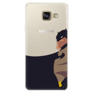 Silikonové pouzdro iSaprio (mléčně zakalené) BaT Komiks na mobil Samsung Galaxy A5 2016