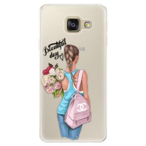 Silikonové pouzdro iSaprio (mléčně zakalené) Beautiful Day na mobil Samsung Galaxy A5 2016