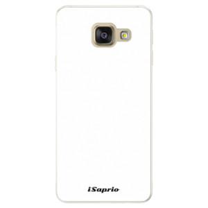 Silikonové pouzdro iSaprio 4Pure bílé na mobil Samsung Galaxy A5 2016