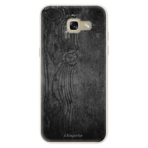 Silikonové pouzdro iSaprio (mléčně zakalené) Black Wood 13 na mobil Samsung Galaxy A5 2017