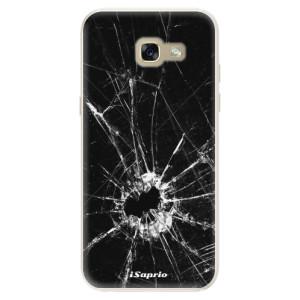 Silikonové pouzdro iSaprio (mléčně zakalené) Broken Glass 10 na mobil Samsung Galaxy A5 2017