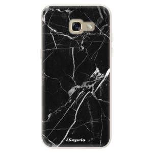 Silikonové pouzdro iSaprio (mléčně zakalené) Black Marble 18 na mobil Samsung Galaxy A5 2017
