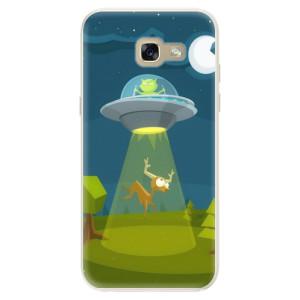 Silikonové pouzdro iSaprio (mléčně zakalené) Ufouni 01 na mobil Samsung Galaxy A5 2017