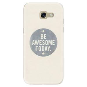 Silikonové pouzdro iSaprio (mléčně zakalené) Awesome 02 na mobil Samsung Galaxy A5 2017