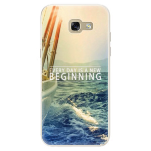 Silikonové pouzdro iSaprio (mléčně zakalené) Beginning na mobil Samsung Galaxy A5 2017
