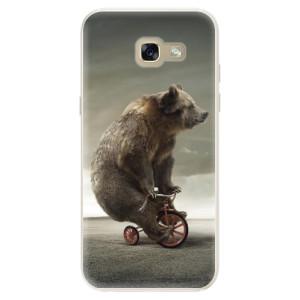 Silikonové pouzdro iSaprio (mléčně zakalené) Medvěd 01 na mobil Samsung Galaxy A5 2017
