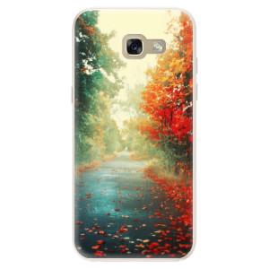 Silikonové pouzdro iSaprio (mléčně zakalené) Podzim 03 na mobil Samsung Galaxy A5 2017