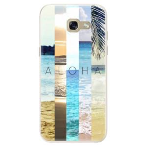 Silikonové pouzdro iSaprio (mléčně zakalené) Aloha 02 na mobil Samsung Galaxy A5 2017