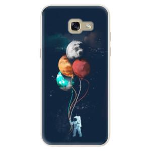 Silikonové pouzdro iSaprio (mléčně zakalené) Balónky 02 na mobil Samsung Galaxy A5 2017