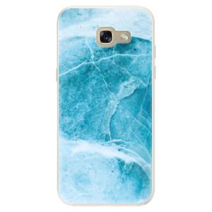 Silikonové pouzdro iSaprio (mléčně zakalené) Blue Marble na mobil Samsung Galaxy A5 2017