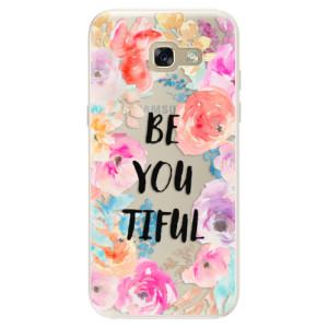 Silikonové pouzdro iSaprio (mléčně zakalené) BeYouTiful na mobil Samsung Galaxy A5 2017