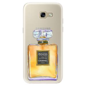 Silikonové pouzdro iSaprio (mléčně zakalené) Chanel Gold na mobil Samsung Galaxy A5 2017