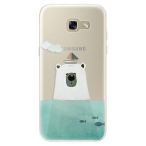 Silikonové pouzdro iSaprio (mléčně zakalené) Medvěd s Lodí na mobil Samsung Galaxy A5 2017