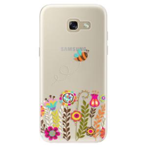 Silikonové pouzdro iSaprio (mléčně zakalené) Včelka Pája 01 na mobil Samsung Galaxy A5 2017