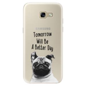 Silikonové pouzdro iSaprio (mléčně zakalené) Better Day 01 na mobil Samsung Galaxy A5 2017