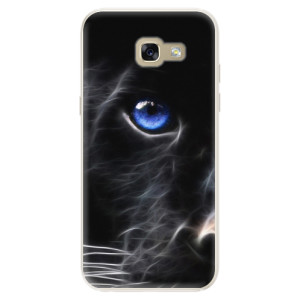 Silikonové pouzdro iSaprio (mléčně zakalené) Black Puma na mobil Samsung Galaxy A5 2017