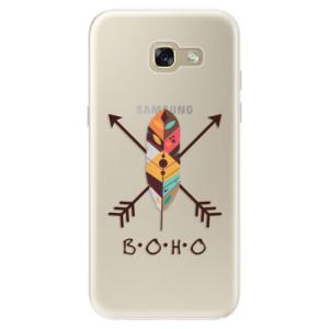 Silikonové pouzdro iSaprio (mléčně zakalené) BOHO na mobil Samsung Galaxy A5 2017