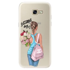 Silikonové pouzdro iSaprio (mléčně zakalené) Beautiful Day na mobil Samsung Galaxy A5 2017