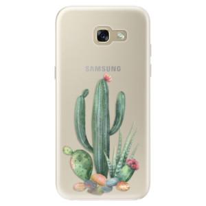 Silikonové pouzdro iSaprio (mléčně zakalené) Kaktusy 02 na mobil Samsung Galaxy A5 2017