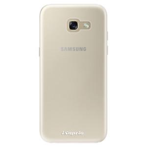 Silikonové pouzdro iSaprio 4Pure mléčné bez potisku na mobil Samsung Galaxy A5 2017