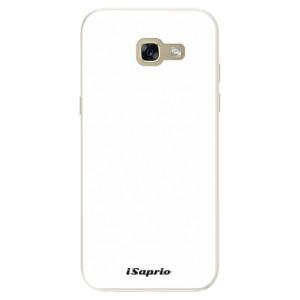 Silikonové pouzdro iSaprio 4Pure bílé na mobil Samsung Galaxy A5 2017
