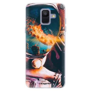 Silikonové pouzdro iSaprio (mléčně zakalené) Astronaut 01 na mobil Samsung Galaxy A6