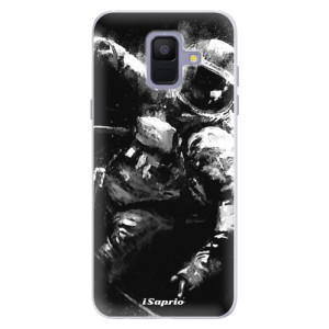 Silikonové pouzdro iSaprio (mléčně zakalené) Astronaut 02 na mobil Samsung Galaxy A6