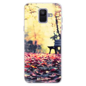 Silikonové pouzdro iSaprio (mléčně zakalené) Bench 01 na mobil Samsung Galaxy A6