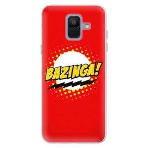 Silikonové pouzdro iSaprio (mléčně zakalené) Bazinga 01 na mobil Samsung Galaxy A6