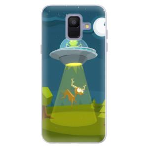 Silikonové pouzdro iSaprio (mléčně zakalené) Ufouni 01 na mobil Samsung Galaxy A6