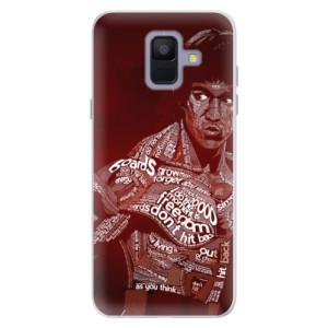 Silikonové pouzdro iSaprio (mléčně zakalené) Bruce Lee na mobil Samsung Galaxy A6