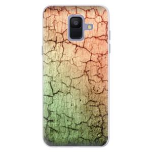 Silikonové pouzdro iSaprio (mléčně zakalené) Rozpraskaná Zeď 01 na mobil Samsung Galaxy A6