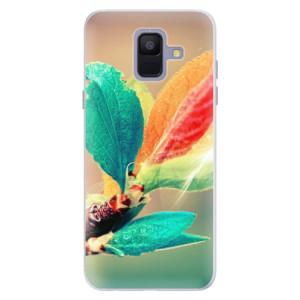 Silikonové pouzdro iSaprio (mléčně zakalené) Podzim 02 na mobil Samsung Galaxy A6