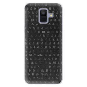 Silikonové pouzdro iSaprio (mléčně zakalené) Ampersand 01 na mobil Samsung Galaxy A6