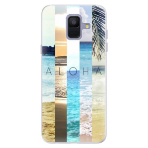 Silikonové pouzdro iSaprio (mléčně zakalené) Aloha 02 na mobil Samsung Galaxy A6