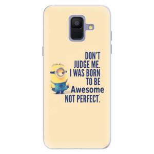 Silikonové pouzdro iSaprio (mléčně zakalené) Be Awesome na mobil Samsung Galaxy A6