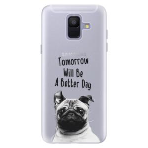 Silikonové pouzdro iSaprio (mléčně zakalené) Better Day 01 na mobil Samsung Galaxy A6