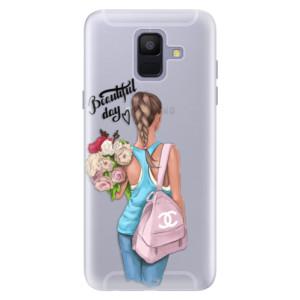 Silikonové pouzdro iSaprio (mléčně zakalené) Beautiful Day na mobil Samsung Galaxy A6