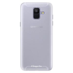 Silikonové pouzdro iSaprio 4Pure mléčné bez potisku na mobil Samsung Galaxy A6
