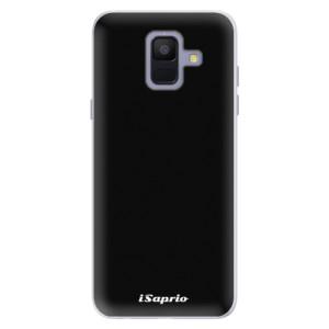 Silikonové pouzdro iSaprio 4Pure černé na mobil Samsung Galaxy A6