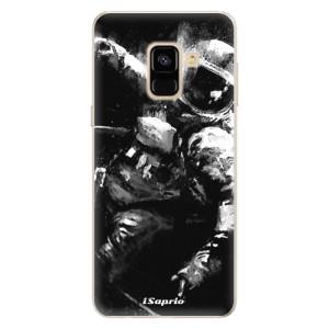 Silikonové pouzdro iSaprio (mléčně zakalené) Astronaut 02 na mobil Samsung Galaxy A8 2018