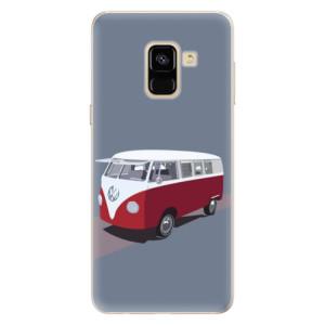 Silikonové pouzdro iSaprio (mléčně zakalené) VW Bus na mobil Samsung Galaxy A8 2018