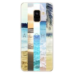 Silikonové pouzdro iSaprio (mléčně zakalené) Aloha 02 na mobil Samsung Galaxy A8 2018