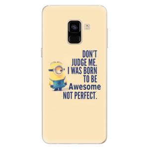 Silikonové pouzdro iSaprio (mléčně zakalené) Be Awesome na mobil Samsung Galaxy A8 2018