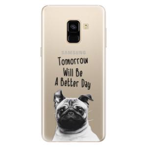 Silikonové pouzdro iSaprio (mléčně zakalené) Better Day 01 na mobil Samsung Galaxy A8 2018